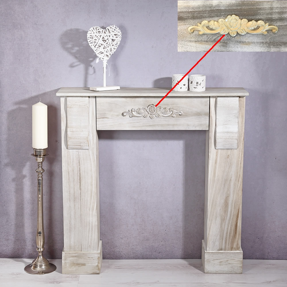 shabby chemin e d corative manteau de accessoires console. Black Bedroom Furniture Sets. Home Design Ideas