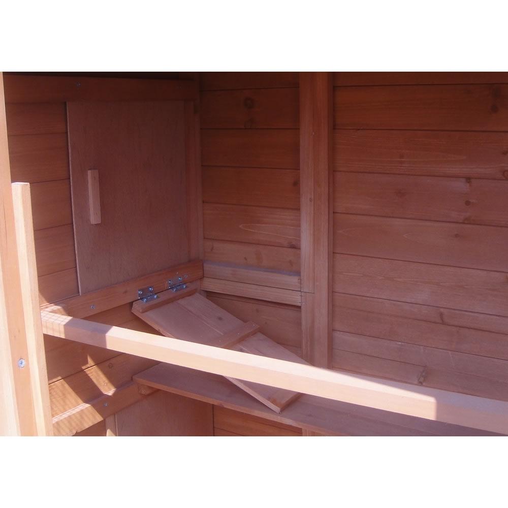 kaninchenstall mit freilauf hasenstall holz k fig stall hasenk fig h hnerstall ebay. Black Bedroom Furniture Sets. Home Design Ideas