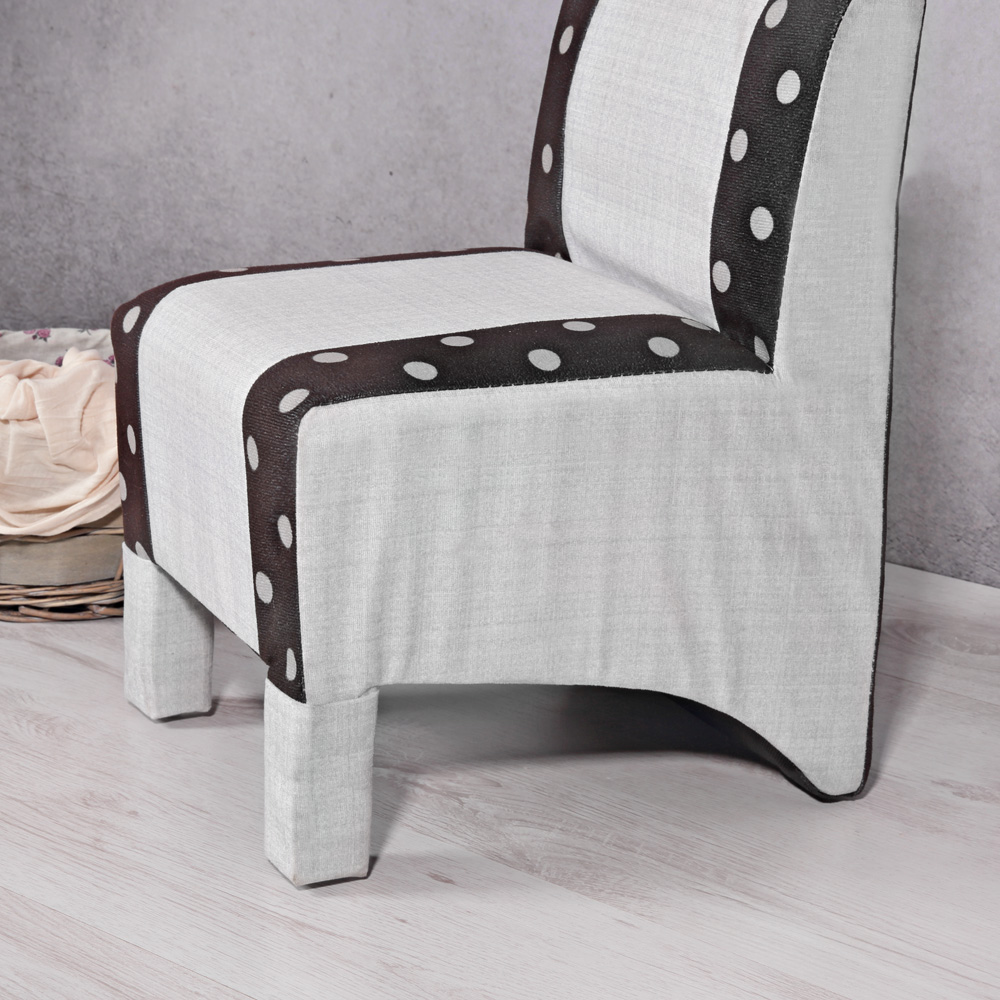Mini polster sessel esszimmer stuhl sitzm bel softsessel for Relaxsessel grau stoff