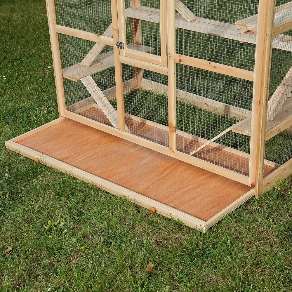 xxl holz nagerk fig hamsterk fig k fig m usek fig kleintierk fig nagervilla ebay. Black Bedroom Furniture Sets. Home Design Ideas