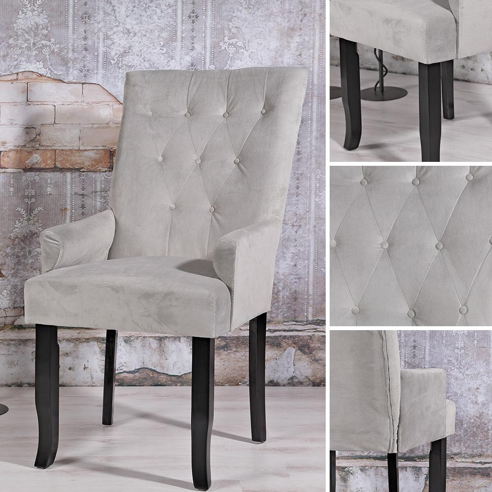 design esszimer sessel samt armlehnen barock lehnstuhl wohnzimmer esszimmerstuhl ebay