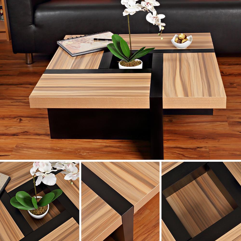 Couchtisch beistelltisch wohnzimmertisch designertisch for Couchtisch schwarz