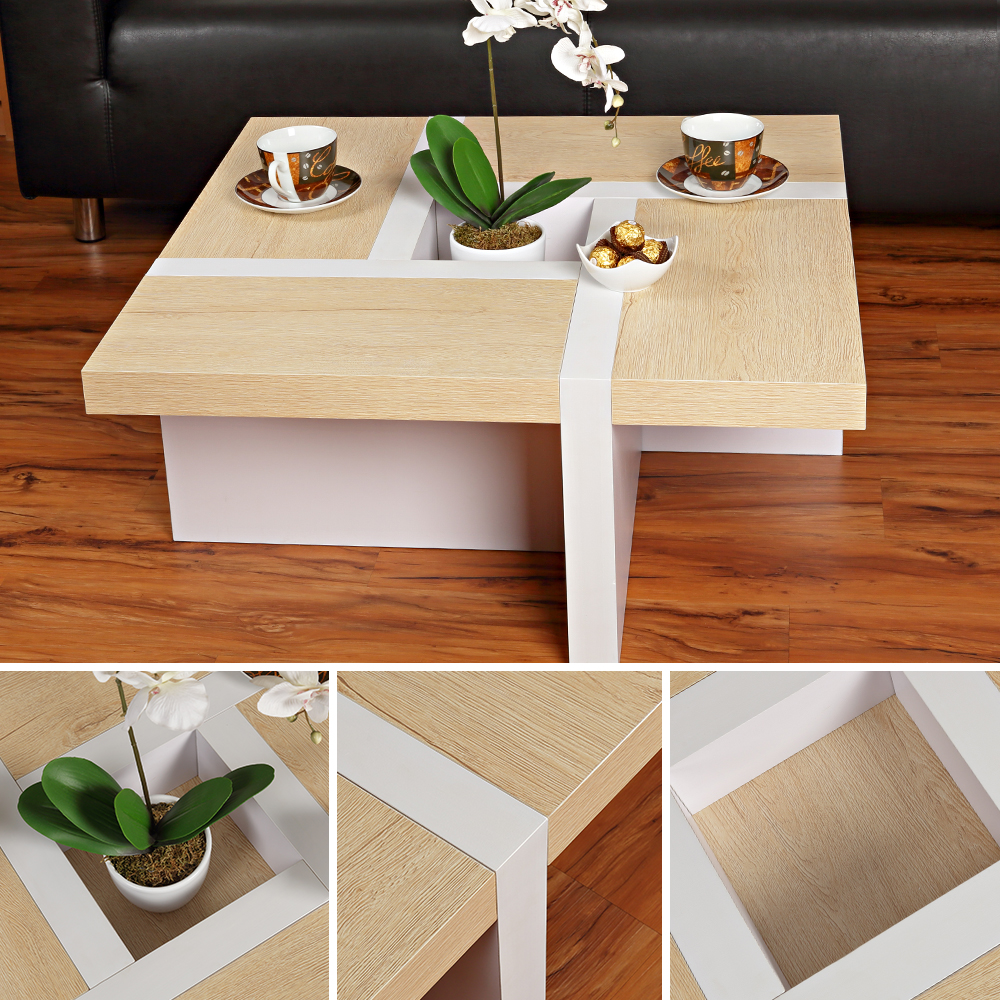 Wohnzimmertisch couchtisch beistelltisch designertisch for Wohnzimmertisch ebay