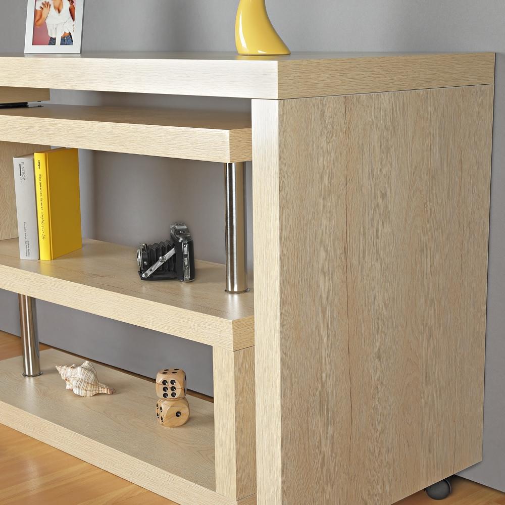 winkelschreibtisch sekret r schreibtisch regal braun computertisch b ro pc ebay. Black Bedroom Furniture Sets. Home Design Ideas