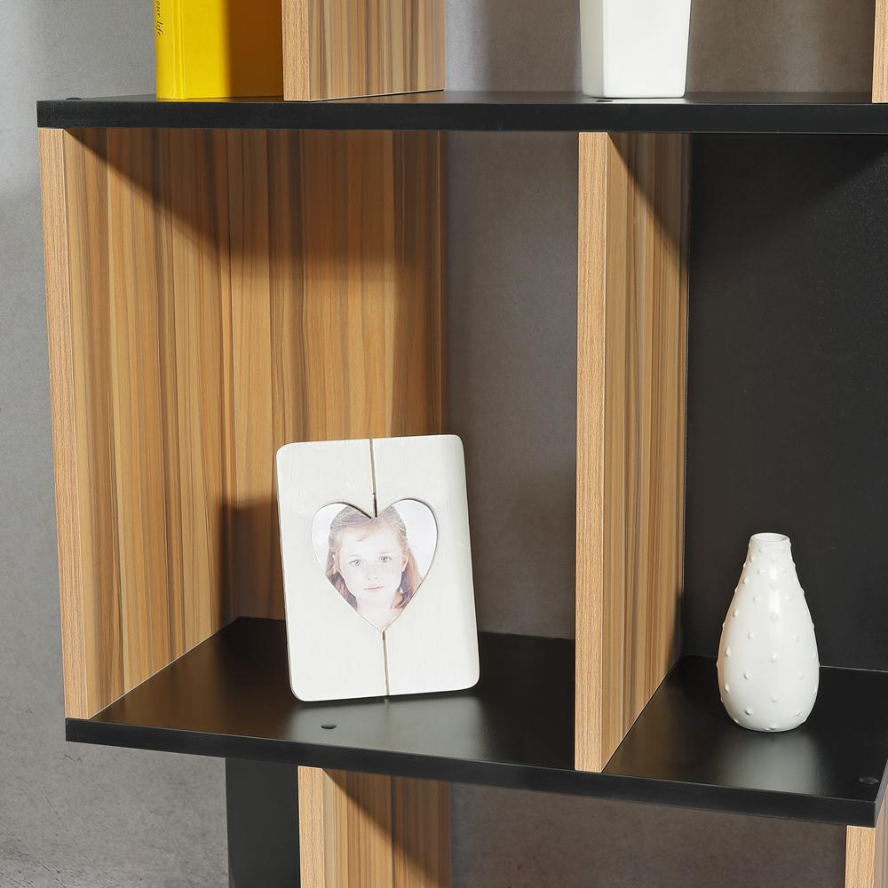 fernsehtisch wandregal holz schwarz braun standregal tv. Black Bedroom Furniture Sets. Home Design Ideas