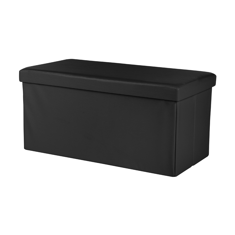 Storage box foldable ottoman seat chest chest bench for Storage ottoman seat