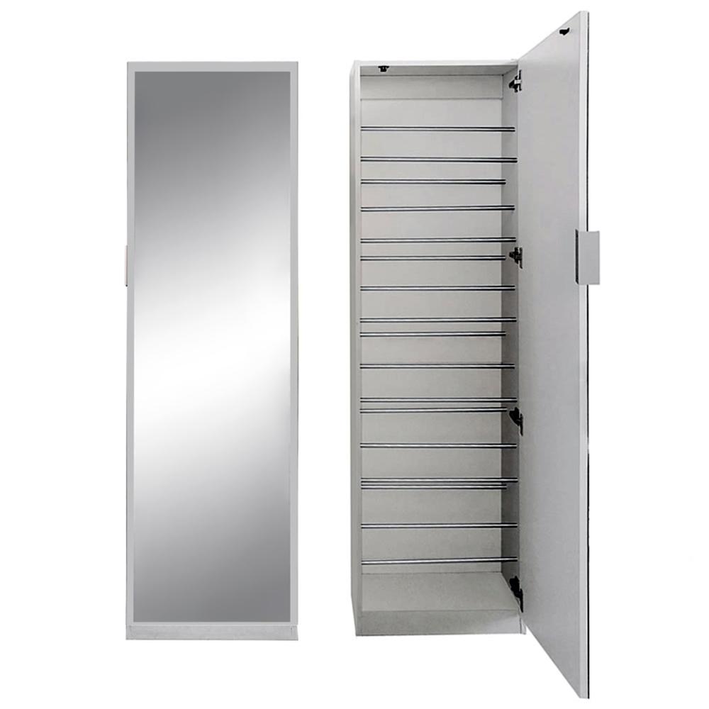 180cm spiegelschuhschrank in wei flur schrank kommode schuhschrank schuhregal ebay. Black Bedroom Furniture Sets. Home Design Ideas