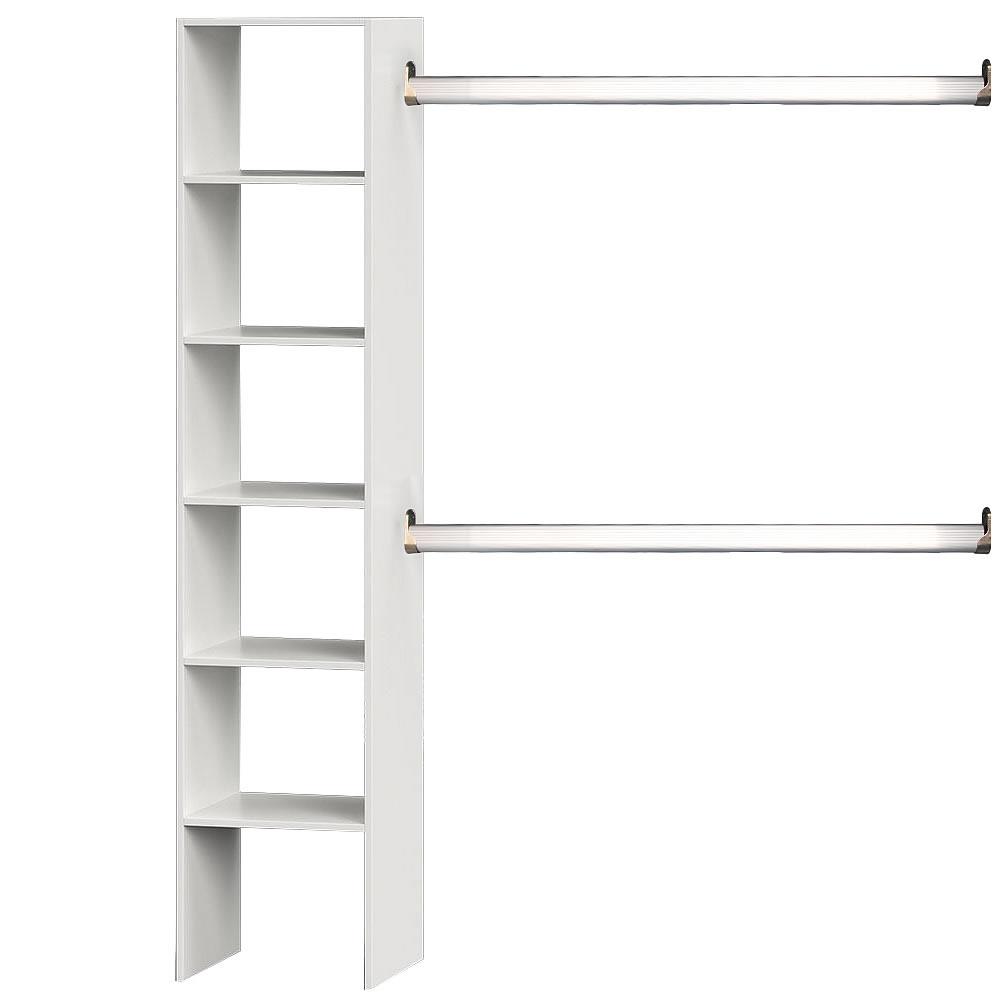 kleiderschrank wei kleiderst nder begehbar regal garderobenschrank ankleide ebay. Black Bedroom Furniture Sets. Home Design Ideas
