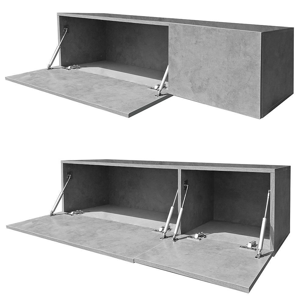 120cm lowboard wei fernsehschrank tv rack fernseh kommode sideboard regal holz ebay. Black Bedroom Furniture Sets. Home Design Ideas