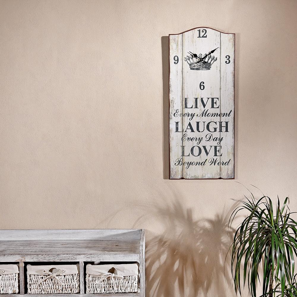vintage wandbild dekouhr uhrpaneel memotafel garderobe wand dekoration tafel ebay. Black Bedroom Furniture Sets. Home Design Ideas