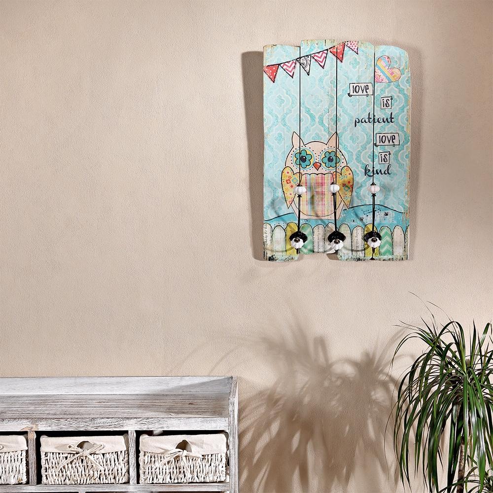 Kinderzimmer wandgarderobe 3 kleiderhaken for Kinderzimmer ebay