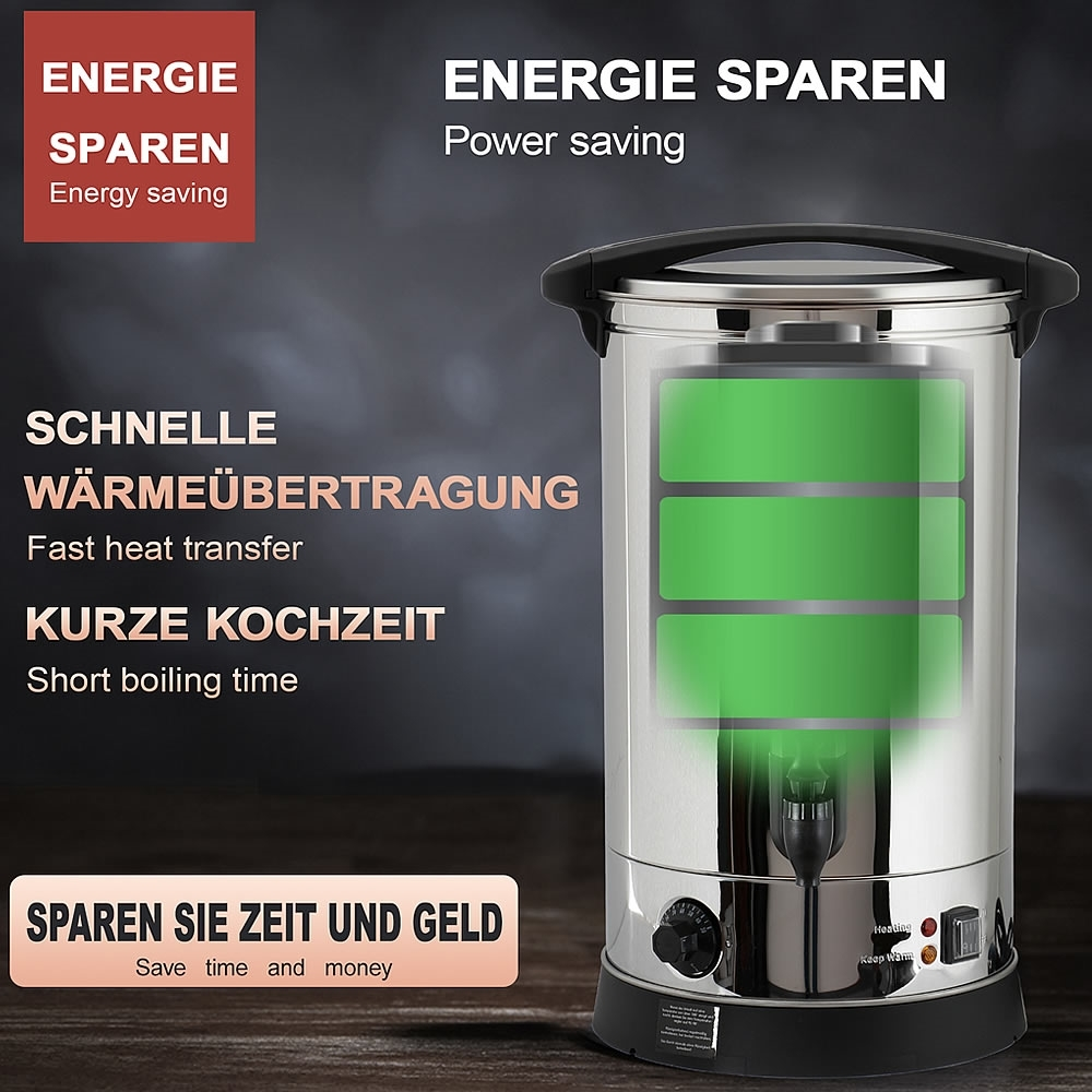 Wasserkocher thermostat dampf schalter fada sl-888
