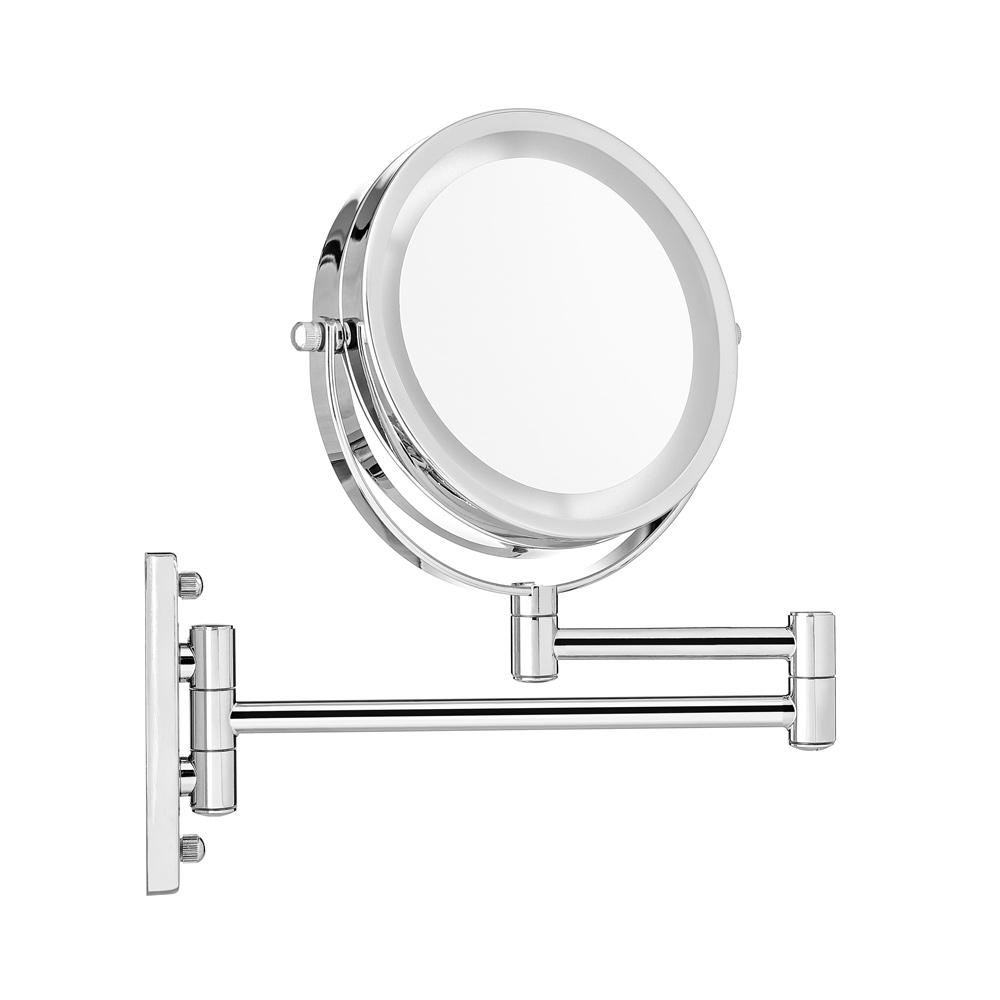 Kosmetikspiegel led schminkspiegel vergr erungsspiegel wandspiegel beleuchtet ebay - Kosmetikspiegel led batterie ...