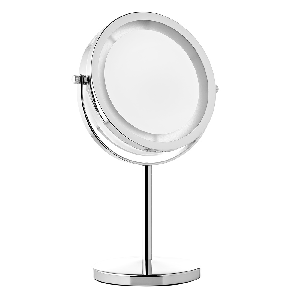 melko 10 fach kosmetikspiegel wandspiegel rasierspiegel make up spiegel led ebay. Black Bedroom Furniture Sets. Home Design Ideas