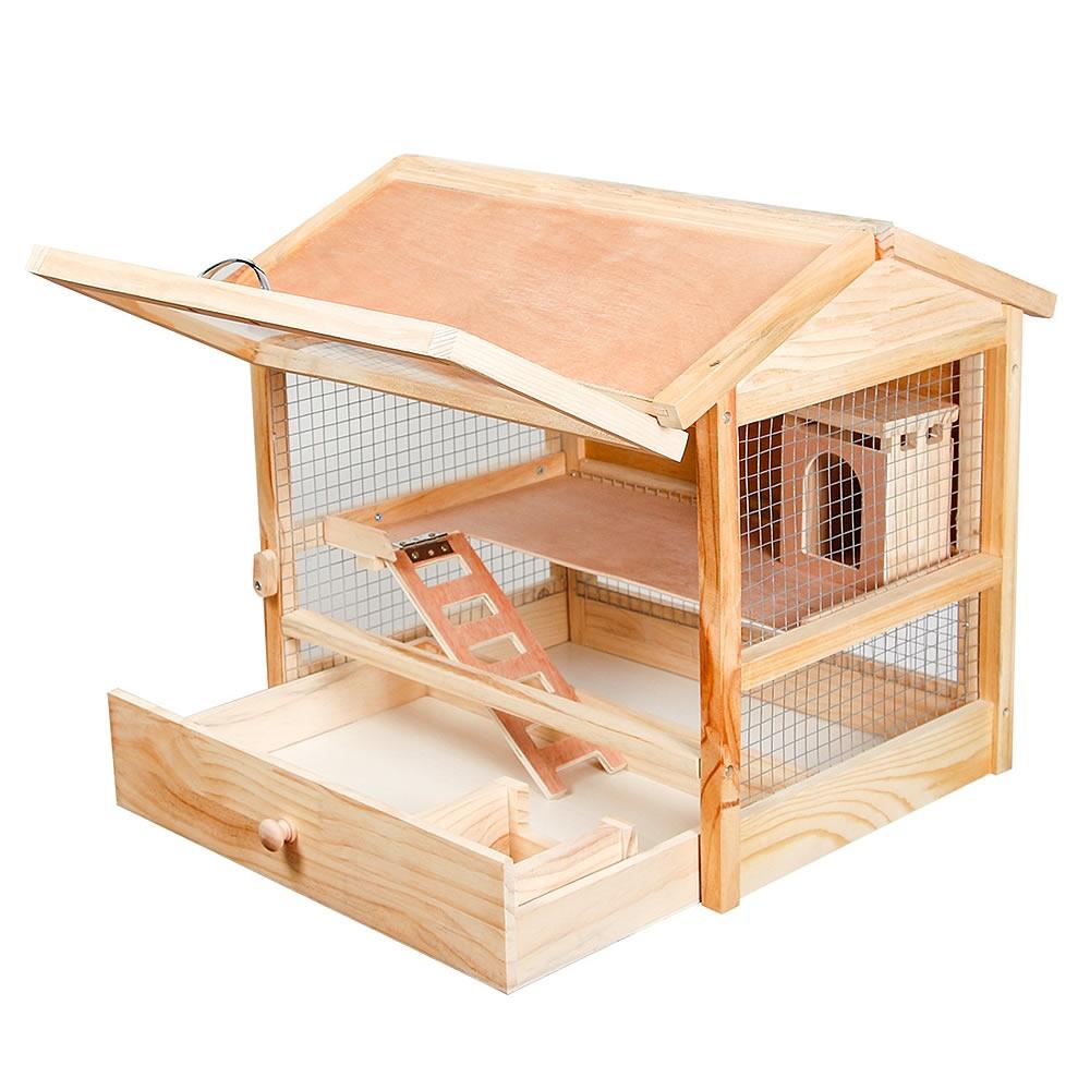 xl nagerk fig hamsterk fig k fig kleintierk fig m usek fig holz klappbare front ebay. Black Bedroom Furniture Sets. Home Design Ideas