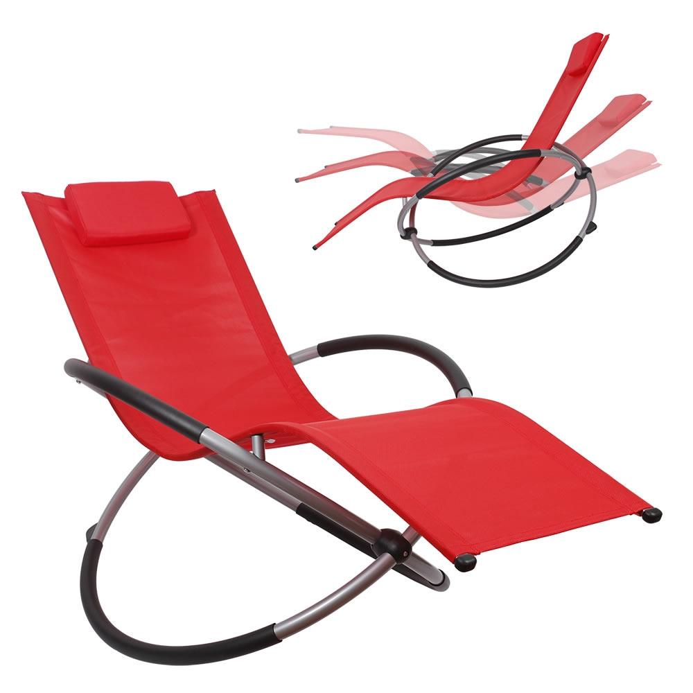Schaukelliege Faltbar Gartenliege Sonnenliege Liegestuhl Relaxliege Liege Ebay