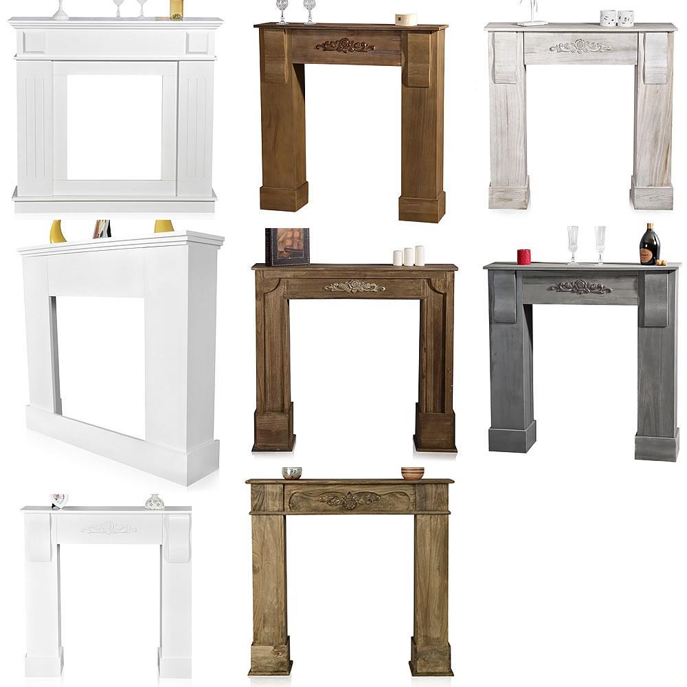 mucola deko kamin attrappe kaminkonsole kaminumbau kaminsims kaminumrandung ebay. Black Bedroom Furniture Sets. Home Design Ideas