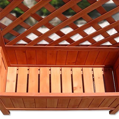 rankhilfe holz spalier blumenkasten rankkasten rankgitter. Black Bedroom Furniture Sets. Home Design Ideas