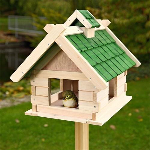 Vogelhausständer 92cm Vogelhaus Ständer Standfuß Vogelfutterhaus Stehend Holz