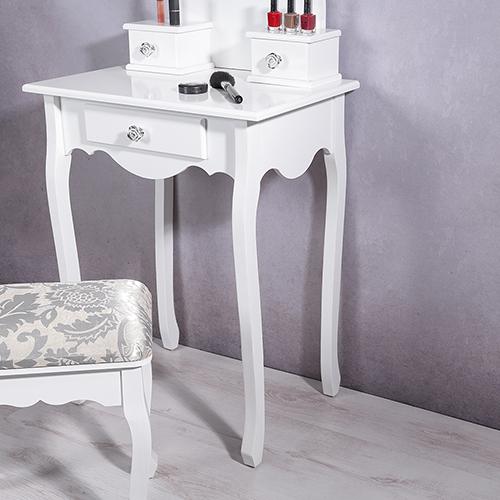 frisierkommode spiegel hocker wei schminktisch frisiertisch kosmetiktisch m01 ebay. Black Bedroom Furniture Sets. Home Design Ideas