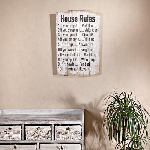 shabby chic holzbild wandbild holzschild wandbrett holz bild retro vintage neu ebay. Black Bedroom Furniture Sets. Home Design Ideas