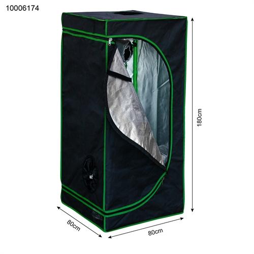 Growschrank 80x80x180cm INDOR growroom Grow Tent indoor Serra