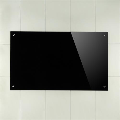 100x60cm glas k chenr ckwand spritzschutz esg. Black Bedroom Furniture Sets. Home Design Ideas