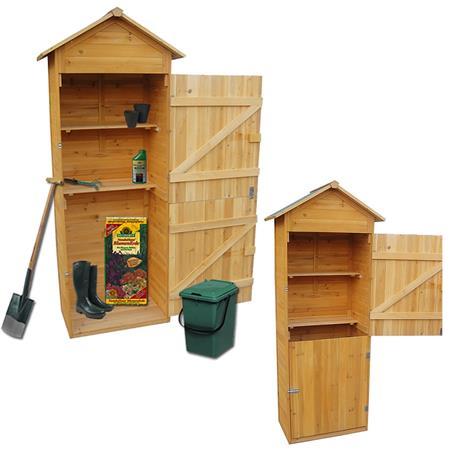 Favorit Gerätehaus Holz Geräteschuppen Gartenschrank Geräteschrank Schuppen OQ85